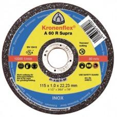 Dischi da taglio Klingspor A 60 R Supra 115X1X22.23