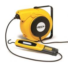Avvolgicavo con lampada portatile a led Zeca 5908/330 c/trasformatore