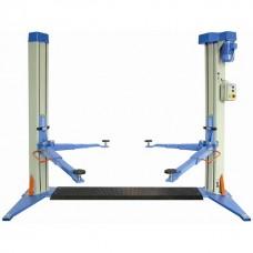 Ponte sollevatore elettromeccanico a 2 colonne con basamento portata 3,5 Ton.  OMCN 199/DELTA
